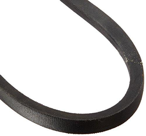 "BESTORQ A37 or 4L390 Rubber V-Belt, Wrapped, Black, 39"" Length x 0.5"" Width x 0.32"" Height"