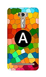 SWAG my CASE Printed Back Cover for Asus Zenfone 2 Laser 601