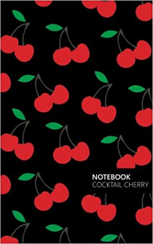 Cocktail Cherry Lined Notebook