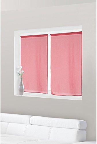 paire de voilage vitrage effet lin 90 x 120 cm les petites annonces gratuites. Black Bedroom Furniture Sets. Home Design Ideas