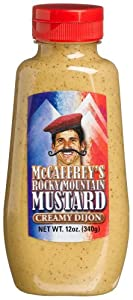 McCaffrey's Rocky Mountain Mustard Creamy Dijon, 12-Ounces Jars (Pack of 12)