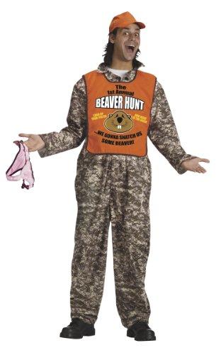 Fun World Funny Raunchy Crude Beaver Hunter Man