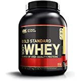 Optimum Nutrition 100% Whey Gold Standard, Banana Cream, 5 Pound
