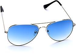 Optis Aviator Sunglasses (Silver) (SRSXC2L2)