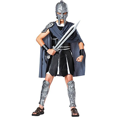 Kids Gladiator Mask & Toy Sword Set - One Size