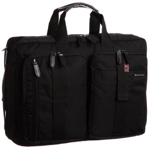 [ワールドトラベラー] World Traveler ワールドトラベラー ガードナー ビジネスバック(2気室・B4サイズ) 41685 01 (ブラック)