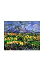 Legendarte Lienzo Mont Sainte-Victoire di Paul Cezanne