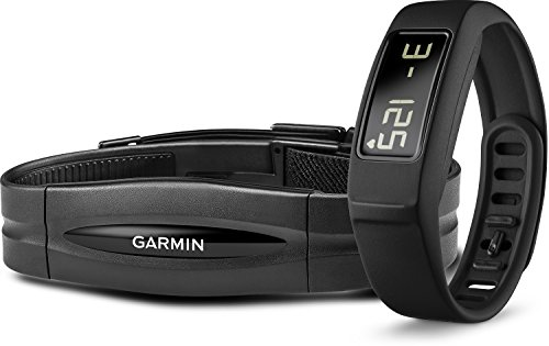 Garmin vívofit 2 Bundle with Heart Rate Monitor, Black