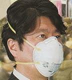DS2マスク相当品 3M製 8210 N95/1箱20枚入 防護マスク(防塵・防じん)+アズワン医療用N95排気弁付きマスク