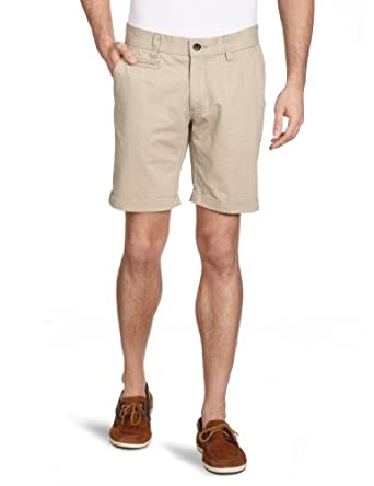 SELECTED Herren Short 16026222 Three Paris sand chino shorts, Gr. 48 (S), Beige (Sand)