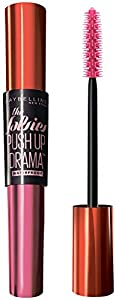 Maybelline New York Volum' Express The Falsies Push Up Drama Waterproof Mascara, Very Black, 0.32 Fluid Ounce