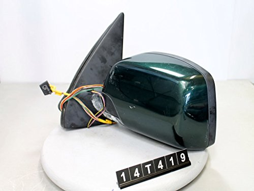 00-03 Bmw X5 Driver Door Mirror Left Side Rear View Oem Green 14T419