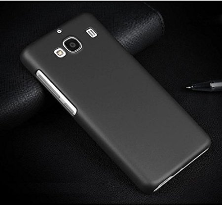 cheap for discount 6cd24 17189 SDO™ Classy Matte Finish Rubberised Design Slim Hard Back Case Cover for  Xiaomi Redmi 2/Redmi 2 Prime - Black