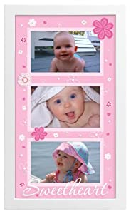 Malden Sweetheart  Picture Frame, White