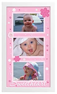 Malden Sweetheart  Picture Frame, White (Discontinued by Manufacturer)