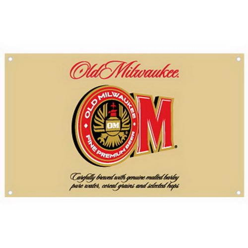 new-licensed-old-milwaukee-beer-polyester-wall-banner