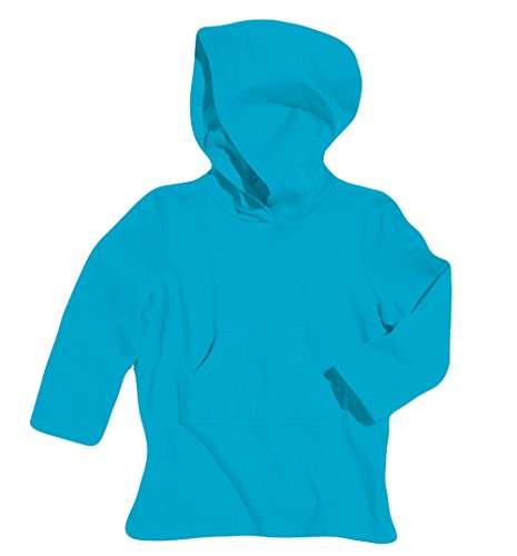 Sun Smarties Boys Cotton Hoodie Sun Protection Beach Swim Cover-Up Blue SZ 7-8