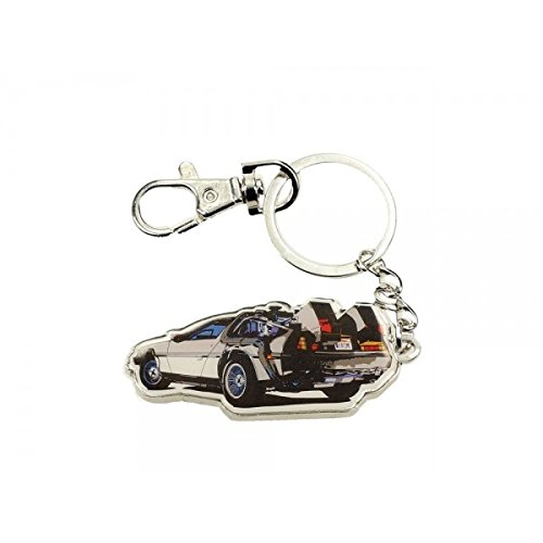 Back to the Future Metal Keychain Time Machine 7 cm Toys Portachiavi