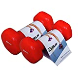 DUBLIN vinyl 1 pair of 1 kg Dumbbell