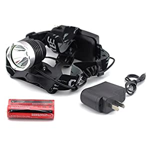 Econoled Outdoor Waterproof 1600lm Xm-l T6 LED Headlamp