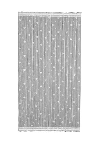 Bee 45X63 Door Panel, White (French Door Lace Panel compare prices)