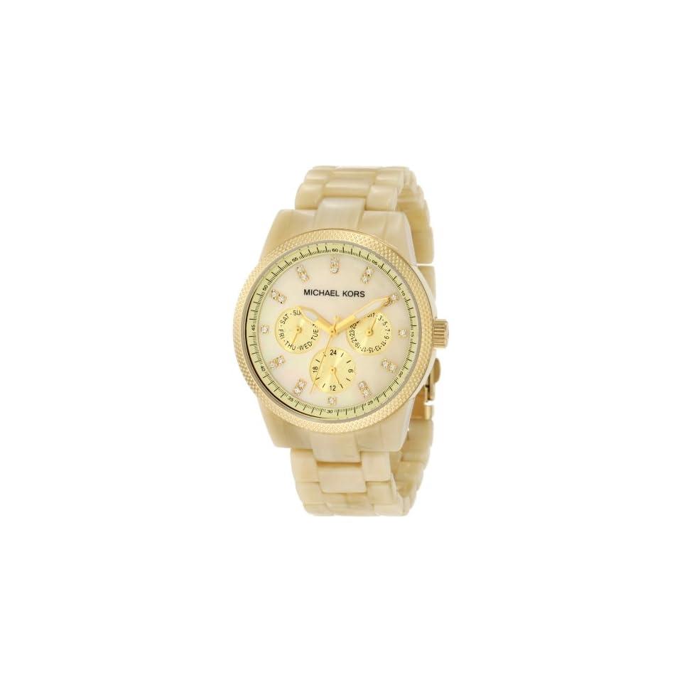 d84735197d78 Michael Kors Womens MK5039 Ritz Horn Watch on PopScreen