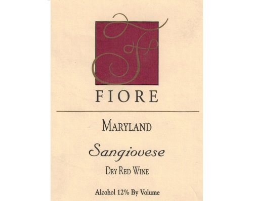 2010 Fiore Winery Sangiovese 750Ml
