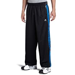 NBA Dallas Mavericks Black Blue Digital Panel Pant by Zipway