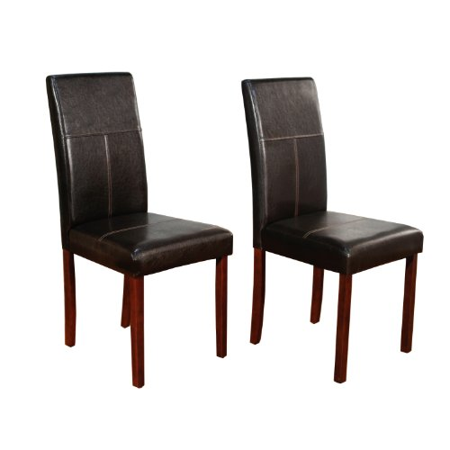 Tms Bettega Parsons Chair, Dark Brown, Set Of 2 front-925368