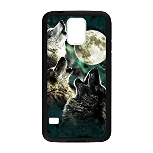 Moon Wolf Custom Custom case cover for Samsung Galaxy S5?: Cell Phones