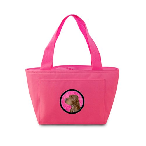 Caroline's Treasures SS4801-PK Field Spaniel Lunch or Doggie Bag, Large, Pink - 1