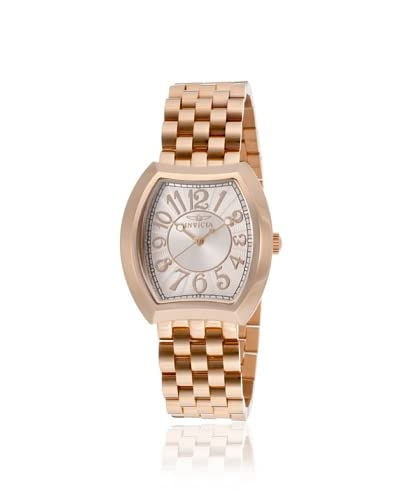 Invicta Women's 15041 Angel 18K Rose Gold Ion-Plated Stainless Steel Watch
