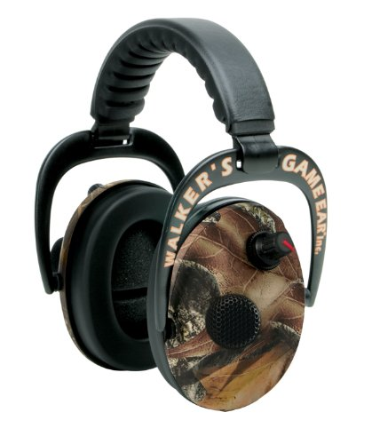 Walker's Game Ear Power Electric Muffs with AFT (Mossy Oak)