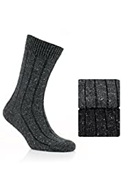 2 Pairs of North Coast Marl Socks with Wool
