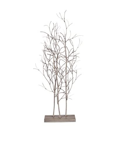 Large Wood Tree Table Decoration, Brown