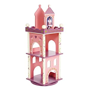 Levels Of Discovery Princess Revolving Bookcase Pink/Purple