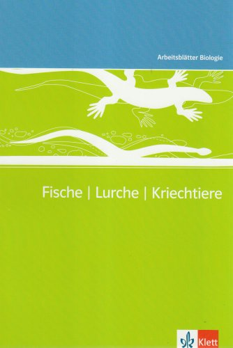 Download Arbeitsblätter Biologie (Kopiervorlagen) / Fische - Lurche ...
