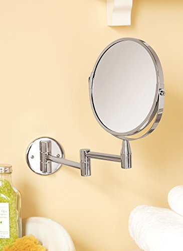 Swivel Wall-Mounted Magnifying Mirror front-63945