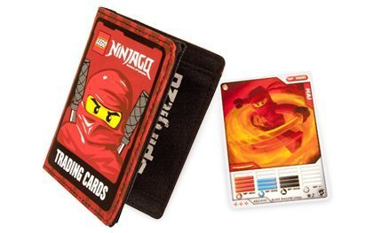 41hLcENcJYL Reviews LEGO Ninjago Trading Card Holder