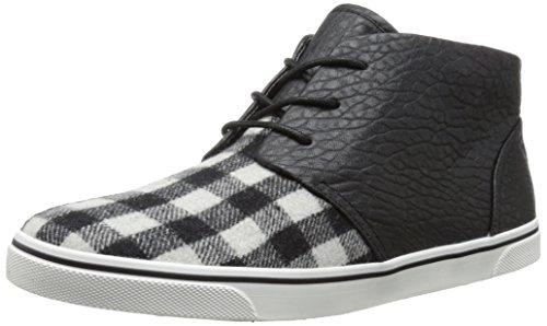 Dv By Dolce Vita Women'S Gia Fashion Sneaker,Black/Grey,7.5 M Us