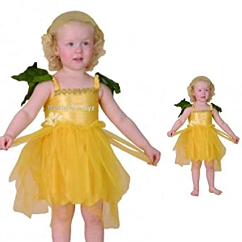flower princess yellow flower fairy princess toddler