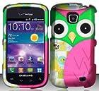 Samsung Illusion and Galaxy Proclaim i110 Verizon/Straight Talk Colorful Owl Design