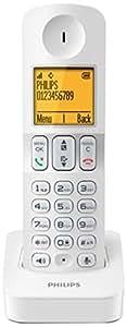 Philips D4050W/12 Combiné supplémentaire Blanc