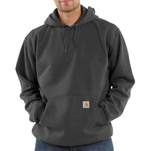 Carhartt Midweight Hooded Sweatshirt Charcoal Heather M,L,XL,XXL Mens