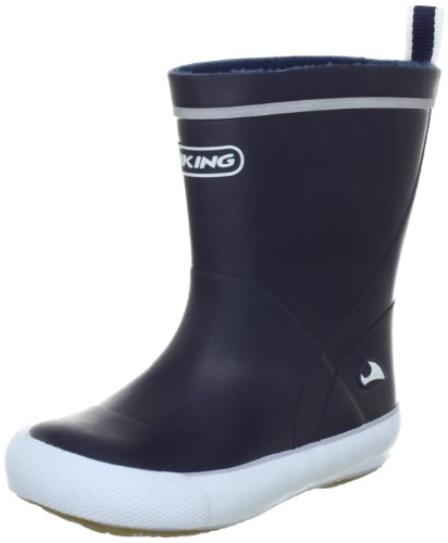 Viking Miniature Rubber Boots Unisex-Child blue Blau (Marine 5) Size: 22