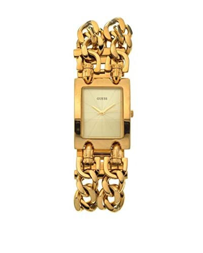 Guess Orologio al Quarzo Mod Heavy Metal Oro 47 mm