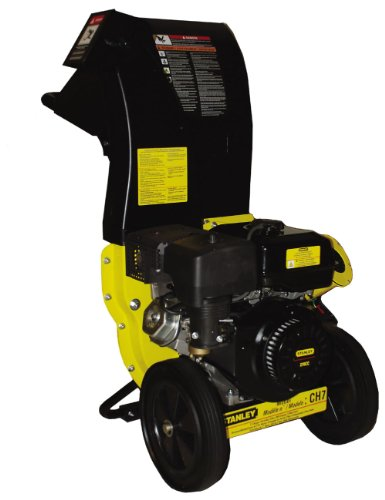 Read About Stanley 11 HP 270cc Chipper Shredder with 3 in. Diameter Feeder