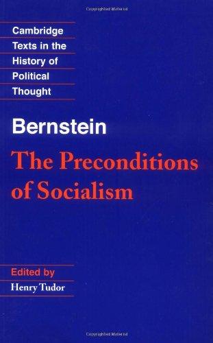 Bernstein: The Preconditions of Socialism (Cambridge...