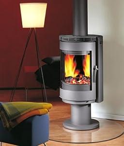 kaminofen ofen schwedenofen r3 grau 360 drehbar. Black Bedroom Furniture Sets. Home Design Ideas