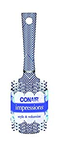 Conair Impressions Hair Brush Nylon Bristle Round Large